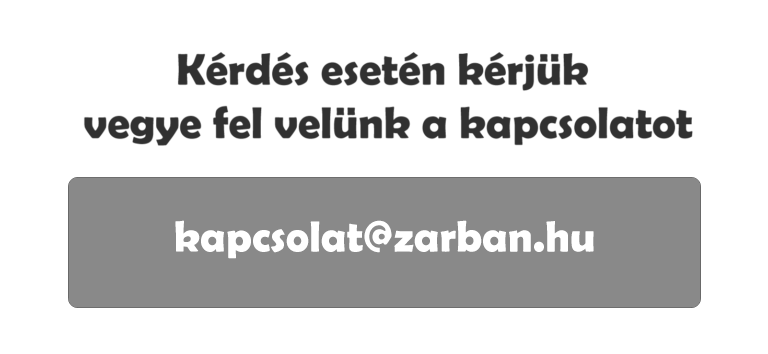 kapcsolat@zarban.hu