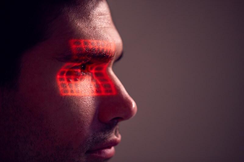 retina szkenner